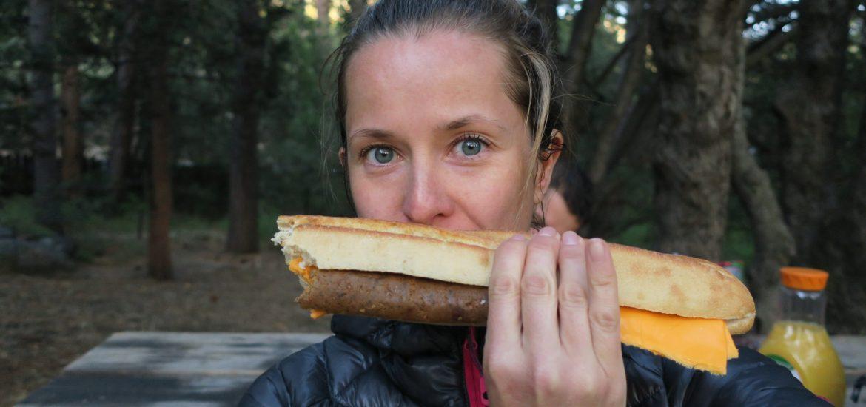 Jak jíst na trailu