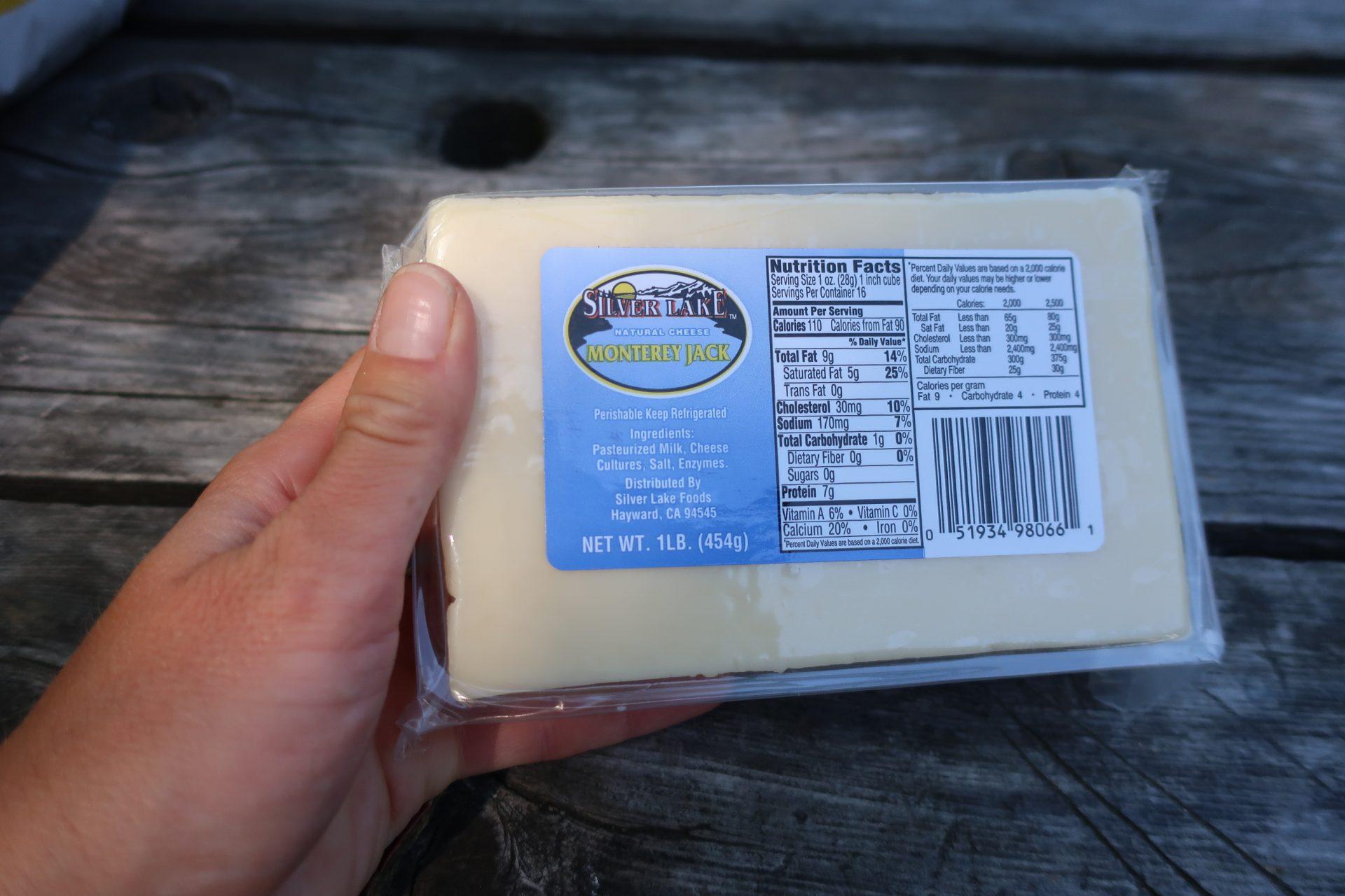 """Sýr - nejvíc nám chutnal """"Jack"""""""