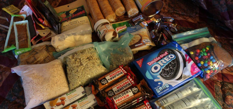 Potraviny objednané z Amazonu